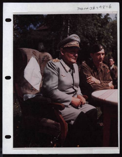 collective-history:  Hermann Goering after German surrender