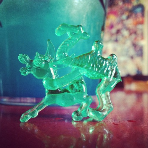 mosuniverse:  #plastic #animals always #adorn our #cocktails at #mosuniverse #sandiego #hillcrest (Taken with Instagram at Urban Mo's)