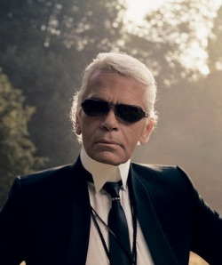 Karl Lagerfeld Fashion Designer, Fashion Photographer and much more..