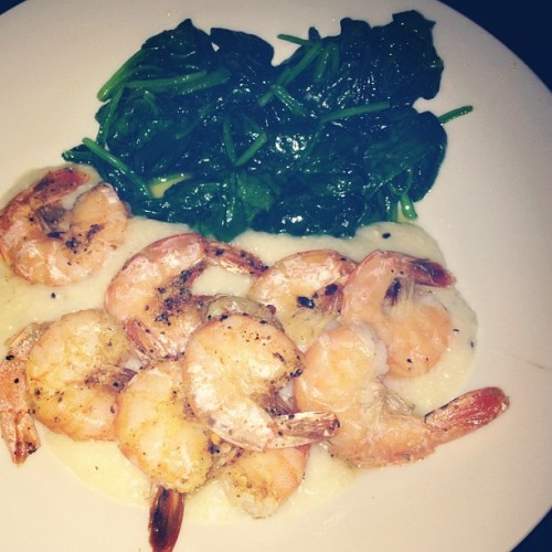 quite possibly the best meal I've made thus far… Bon appetit!!  (Taken with instagram)