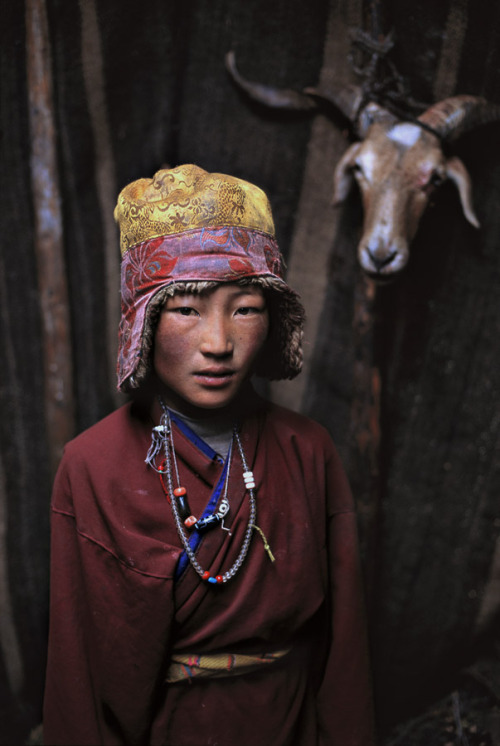 Nomad Boy, Litang, Kham, Tibet, 2005  (by Steve McCurry)