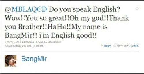 Bang Mir's Engrish, *hands down*