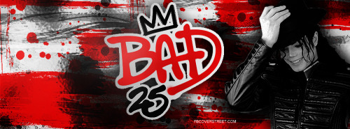 Bad 25 Facebook Covers