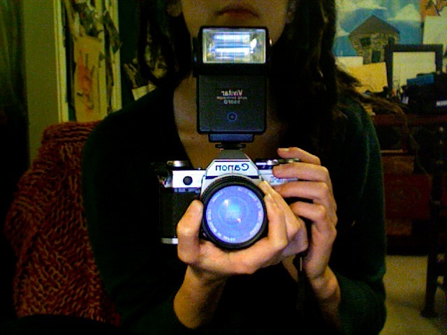 note to future self of tomorrow: REMEMBER TO BUY FILM FOR THIS BABY!