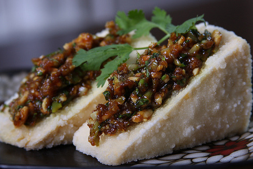 beautifulpicturesofhealthyfood:  Lemongrass and Garlic Stuffed Tofu…RECIPE