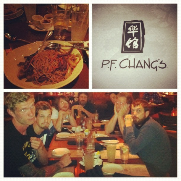 fuckyeahferenchak:  Gary at PF Changs!
