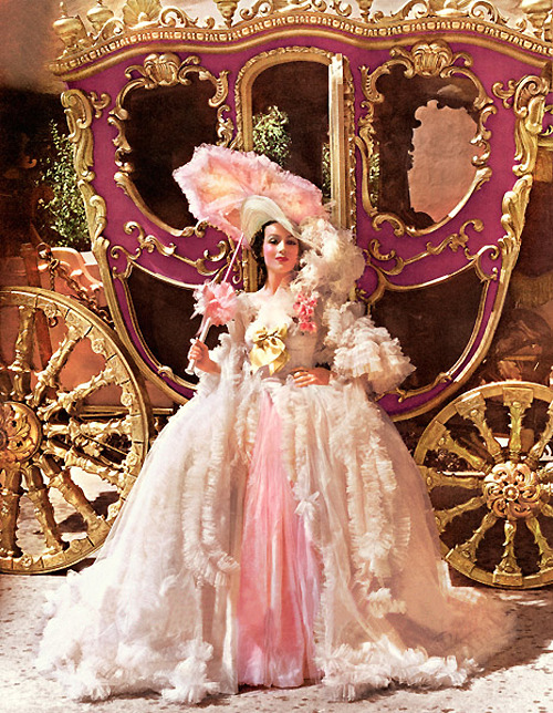 vintagegal:  Dolores Del Rio in Madame Du Barry (1934)