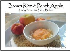 Click here to NJOY baby food recipe at home.