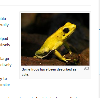 ohnosiro:  Wikipedia stoically acknowledges the cuteness of frogs.