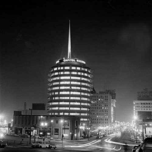 The Capitol Records Building Simplicity is the ultimate sophistication. It's also make for things that are .. go ahead, say it. Just perfect!