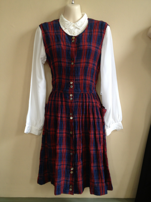 Plaid dress and blouse 2 for $70