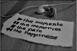 Play the moments Pause memories Stop the pain Rewind the happiness