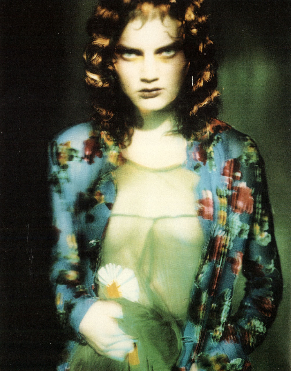 Guinevere van Seenusphotography paolo roversi hair julien d'ys make-up linda cantello Yohji Yamamoto «Rewind/Forward», 238 Fashion Pictures, 1995–2000