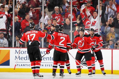 DEVILS WIN! Hell yes. Just 2 more to go. To all my Ranger fans who refused to believe that you would lose and that the Devils are a shit team. Suck my cock because you lost twice already.
