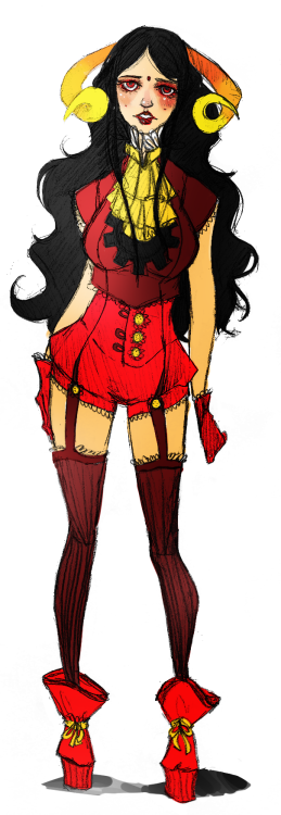 Finished the Aradia! Thanks for stoppin by! (Spin off of Rumminov's Fancy God Tier design)