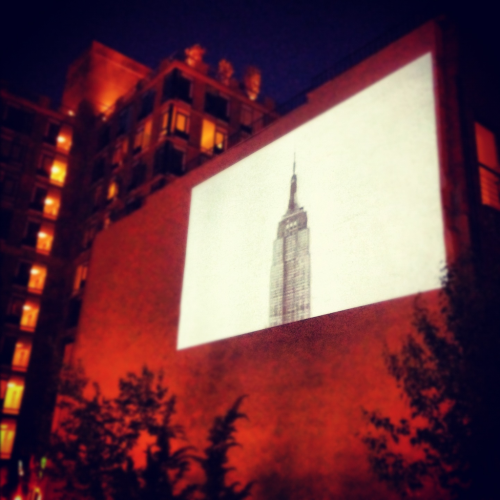Interesting film of the empire state building on the NYC high line
