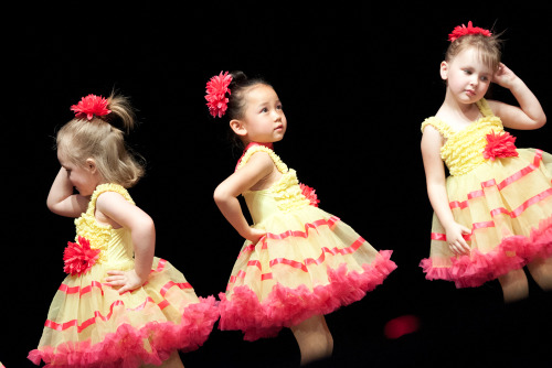 Kiki's ballet class performing Each One is a Flower — aren't they just the cutest ever?!