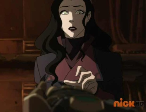 "Slight rant on the way ^^ So, here's my thing with Asami. As an individual, she's cool. But NO I hate her with Mako. And even if she was gonna be with Mako, fine. But NO I hate that she looks like she's going to be a permanent character. Ya know, like ""part of the group"" I HATE that! It SUCKS big time and is currently making the show un-enjoyable for me… And NO I'm not happy Korra decided to be friends with her. Civil, cool but friends?! Darnit!! Though I am proud of Korra for being the bigger person. I really dunno why! Well, I kinda do but I HATE HER!! - so far *trying to keep a level head… For my sake I hope to get used to it because I LOVE the show!! But I HATE this. And I LOVE Mako but, he's so not at the top of my list like he was sad to say. Unreasonable? Ya probably. But I'm a complicated girl, I like what I like, hate what I hate, and probably irrational sometimes!! *sigh* **taking a breath…When Mako comes to his senses he'll be my man again!! Until then… I don't want her to be our second female!!!! T.T Very sad… Coolies, just had to get that off my chest. Anyone who feels the same way feel FREE to like! And if you don't care…well that's expected lol ^^ Random person ranting after all…"