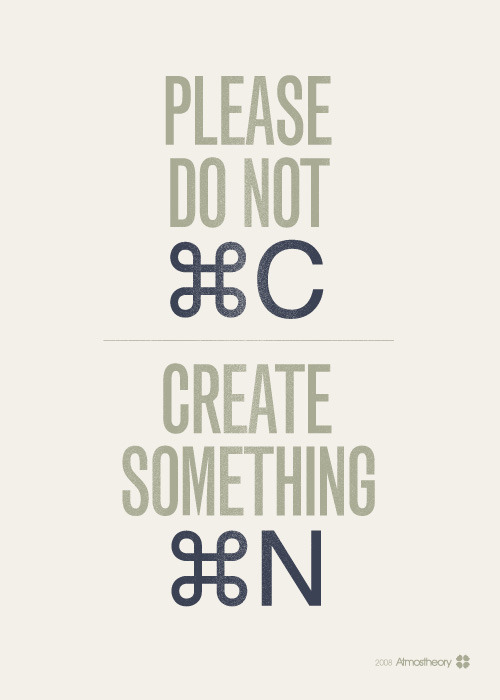 suspensefulgraphics:  Create Something New!