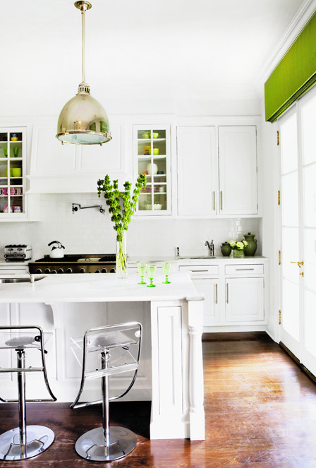 justbesplendid:  bright kitchen