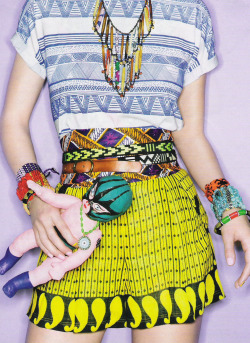 I love it in the mix ~ Colorfull Eclectic fusion ~ Bright colors, mixed african prints and bright batiks