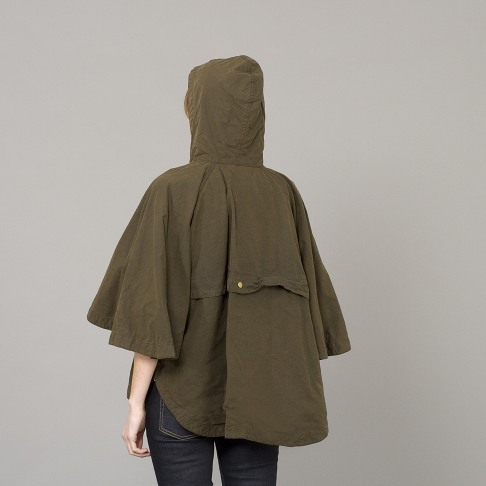 raincheque:  Barbour vintage cape