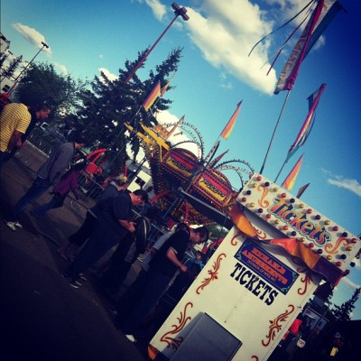 Amusement on Victoria Day #southside #rides #victoriaday #longweekend #canada (Taken with instagram)