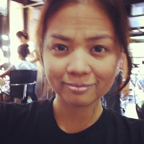 This is me.. 20 years from now. Hahaha. :D aging makeup class :) (Taken with instagram)