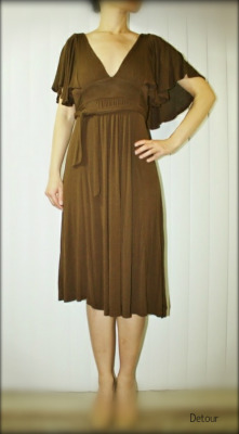 Vintage Inspired Flutter Sleeve Dress $8.99 Auction; $10.99 Buy It Now Please click here to shop.