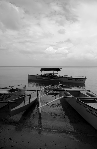 Native boats. Pangasinan.