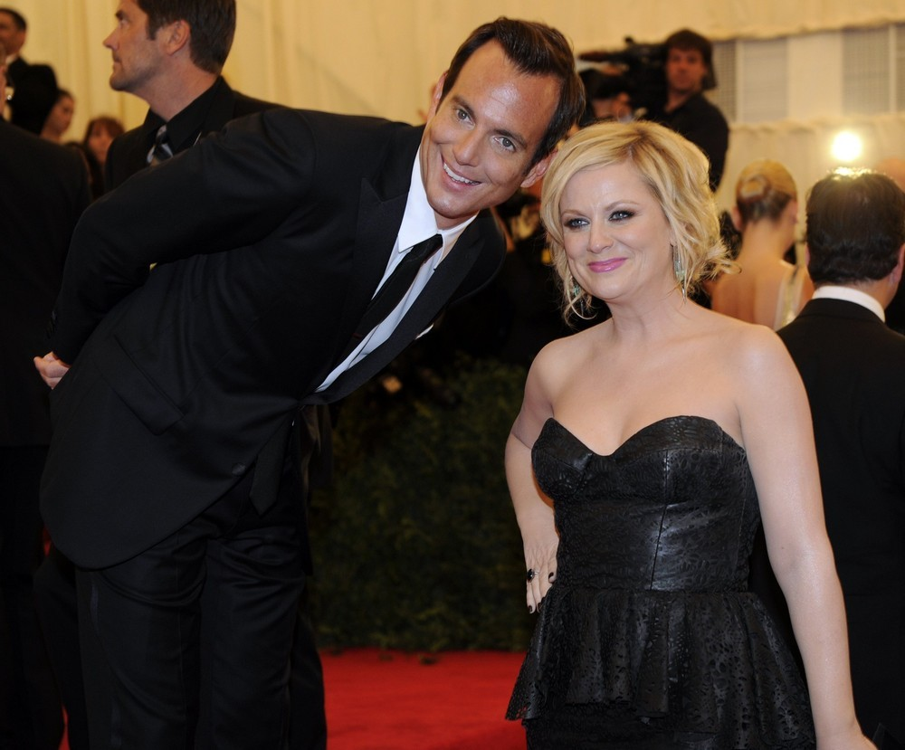suicideblonde:  So there's this adorable picture of Will Arnett and Amy Poehler at the Met Costume Gala that I just found now.