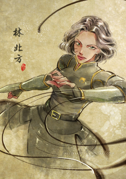 Lin BeiFong by *kelly1412