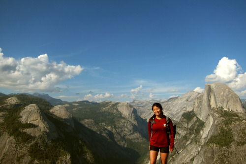 Panorama Trail in Yosemite was simply amazing.