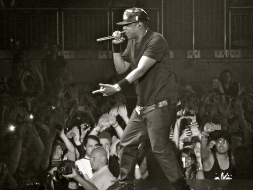 Jay-Z taken by me. Best night of my life.