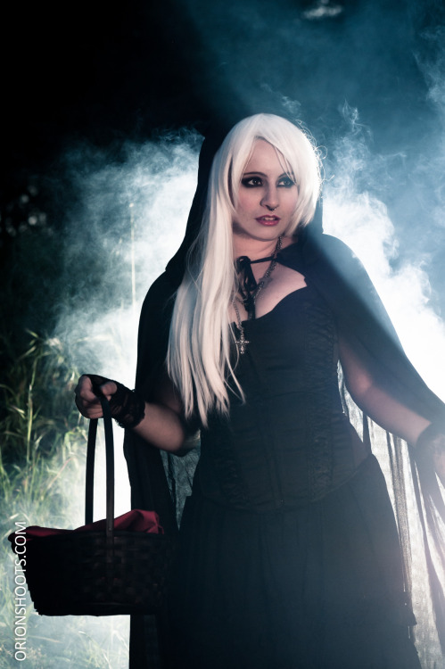 """Dark Riding Hood"" Photographer: Orion McClellandModel: Ms. HexaneMakeup: Terry Alabata   An edgier side of makeup.  Love the character transformations.  Would love to do more such transformation, possibly of superheroes and for comic book/cosplay parties and conventions.  :)   Please click the photo above for more of my wilder makeup transformations!"