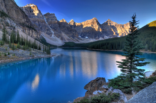 Day Dreaming… Valley of the Ten Peaks, Moraine Lake, Alberta, Canada
