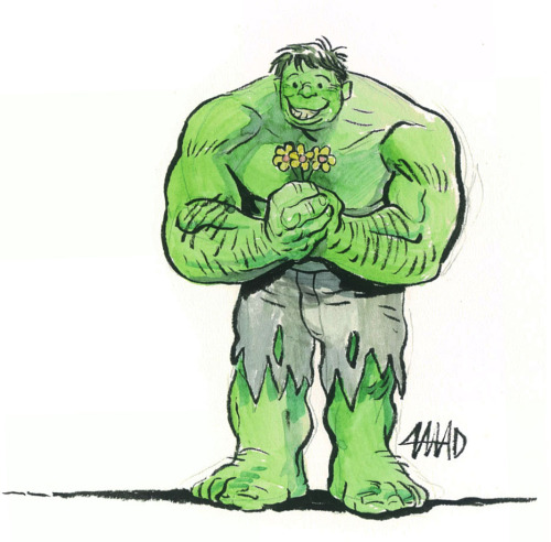 Hulk Crush by Austin Madison