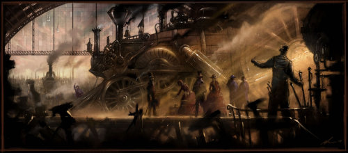 Steam Station by ~skybolt