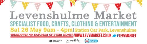 Levenshulme Market launches this Saturday and will take place on the 4th Saturday of the month thereafter. Members of the Levy Uke Up crew will also be performing from midday to get you in the mood. Let's hope this sunshine lasts!