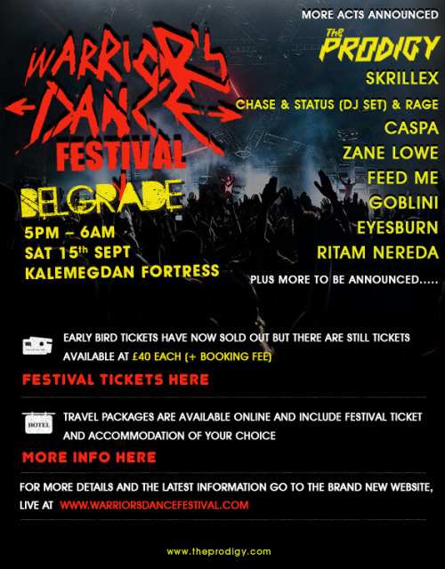 Warriors Dance Festival Belgrade Serbia