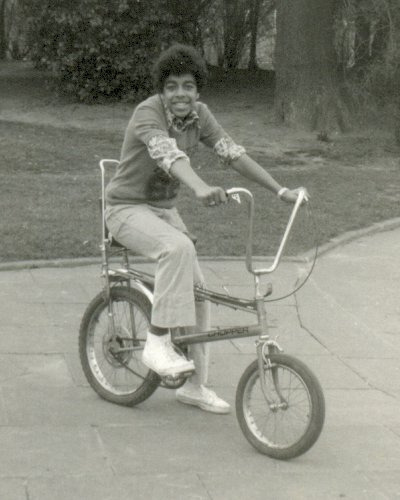 Check out this classic picture of Tony on a Chopper bike, 1976 (by PaulWrightUK) - submitted to our new bike blog Flickr group as a celebration of the Raleigh Chopper, designed by Alan Oakley who has died of cancer aged 85.