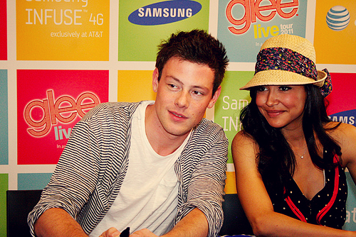 8/25 photos of Naya Rivera&Cory Monteith