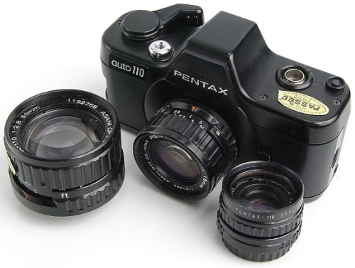 Iconic 110 Cameras: Pentax Auto 110 With the recent release of Lomography's first ever 110 black and white film, we know you must be itching to try them out with some notable 110 cameras. We come to your rescue with a mini-series which features some of these classic compact shooters!