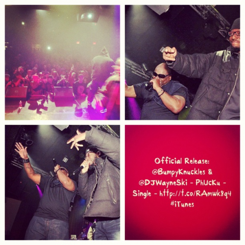 iamdjwayneski:  Official Release: @BumpyKnuckles & @DJWayneSki - PhUcKu - Single - http://itun.es/is647m #iTunes
