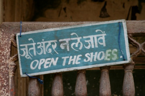 Photo of the Day - Open the Shoes - Jaipur / India A Fresh Start…www.umutyildiz.com.trhttp://dailydesignchallenge.tumblr.com/http://dailyinstagramchallenge.tumblr.com/
