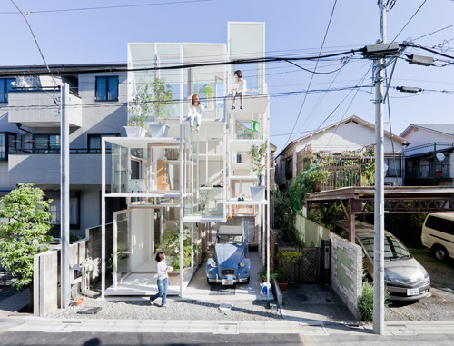 teen-witches:  Privacy is lacking in this Tokyo glass home