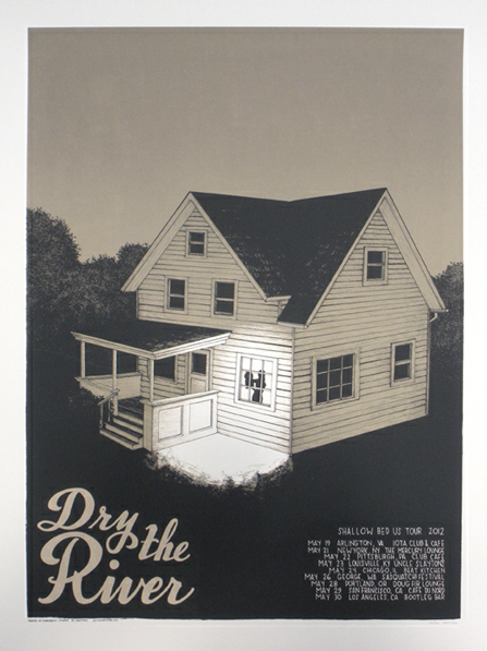 Nice poster for Dry The River's current US tour, check out their dates here: http://bit.ly/KvEiuj