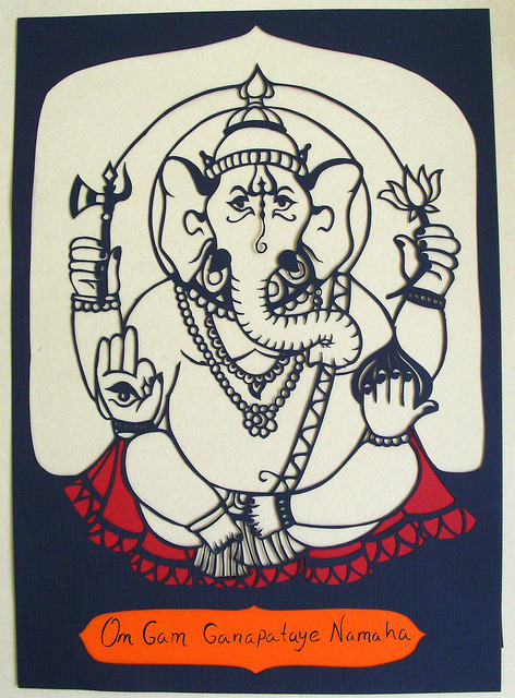 Ganesh by Airín on Flickr.