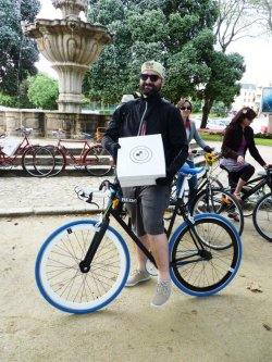 Daniel Moreira - Vencedor do look masculino da 3ª edição do Oporto Cycle Chic