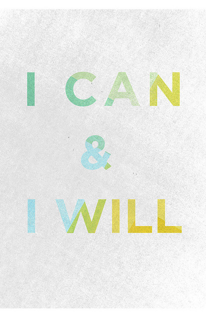 I can & I will by Able Design
